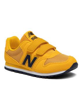 New Balance New Balance Sneakersy YV500TPY Żółty
