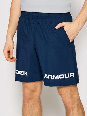 Under Armour Under Armour Sportovní kraťasy Ua Tkane Graphic 1361433 Tmavomodrá Loose Fit