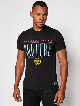 Versace Jeans Couture Versace Jeans Couture T-Shirt B3GZB7TH Schwarz Slim Fit