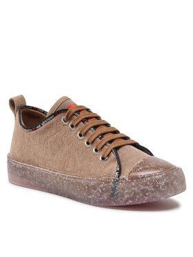 LOVE MOSCHINO LOVE MOSCHINO Sneakers aus Stoff JA15393G0DJ30104 Braun