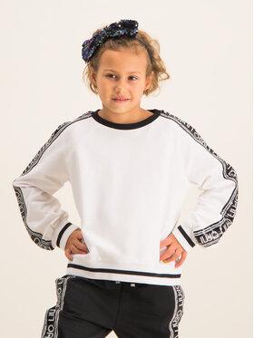 Liu Jo Kids Liu Jo Kids Majica dugih rukava Chiusia G69213 F0090 Bijela Regular Fit