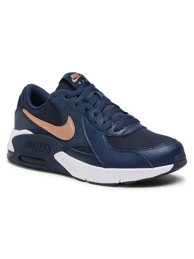 Nike Nike Buty Air Max Excee Gs CD6894 400 Granatowy