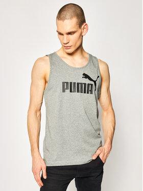Puma Puma Tank top Essentials 851742 Szary Regular Fit