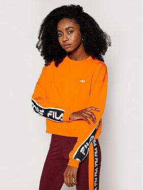Fila Fila Sweatshirt Tallis 687693 Orange Relaxed Fit
