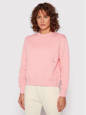 Calvin Klein Jeans Calvin Klein Jeans Bluza Essentials J20J216235 Różowy Relaxed Fit