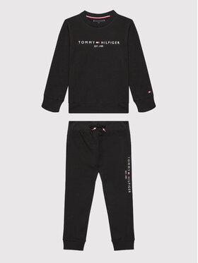 Tommy Hilfiger Tommy Hilfiger Dres Essential Set KB0KB06174 D Czarny Regular Fit