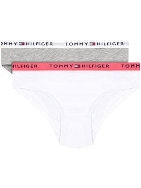 Tommy Hilfiger Tommy Hilfiger Set 2 perechi de chiloți de damă UG0UB90005 D Colorat