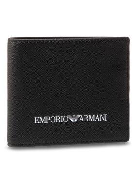 Emporio Armani Emporio Armani Голям мъжки портфейл Y4R168 Y020V 81072 Черен