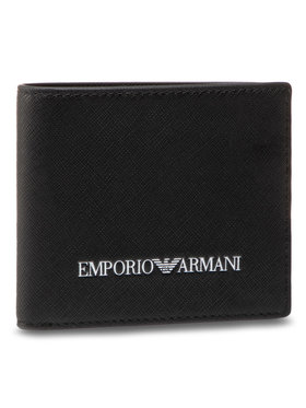 Emporio Armani Emporio Armani Veľká pánska peňaženka Y4R168 Y020V 81072 Čierna