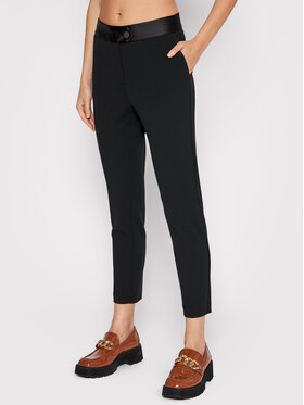 Imperial Imperial Spodnie materiałowe PVN2CDH Czarny Slim Fit