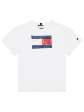 Tommy Hilfiger Tommy Hilfiger T-shirt Photoprint KB0KB06517 M Bianco Regular Fit