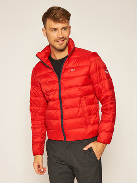 Tommy Jeans Tommy Jeans Kurtka puchowa Tjm Packable Light DM0DM08678 Czerwony Regular Fit