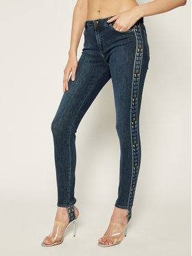Trussardi Jeans Trussardi Jeans Džinsai Skinny Fit 56J00092 Tamsiai mėlyna Skinny Fit