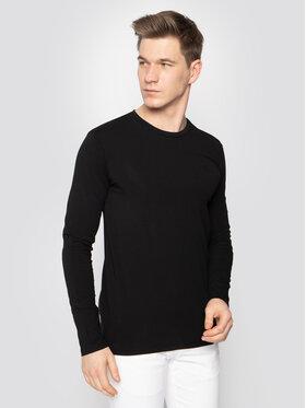 Trussardi Jeans Trussardi Jeans Longsleeve 52T00352 Nero Slim Fit