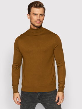 Only & Sons Only & Sons Pull à col roulé Wyler 22020879 Marron Regular Fit