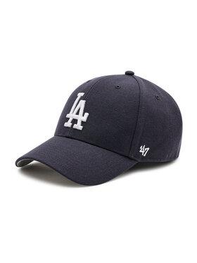 47 Brand 47 Brand Czapka z daszkiem Los Angeles Dodgers B-MVP12WBV-NYD Granatowy