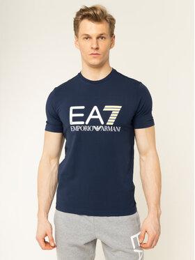 EA7 Emporio Armani EA7 Emporio Armani T-shirt 3HPT05 PJ03Z 1554 Blu scuro Regular Fit