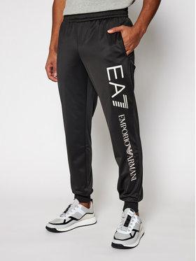 EA7 Emporio Armani EA7 Emporio Armani Teplákové kalhoty 8NPPA4 PJ08Z 0203 Černá Regular Fit