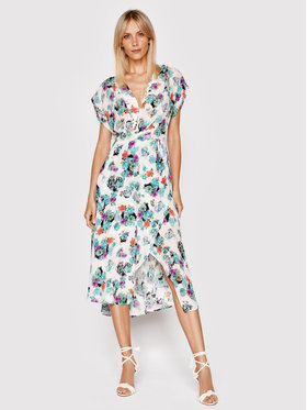 IRO IRO Sukienka letnia Plauna A0552 Kolorowy Regular Fit