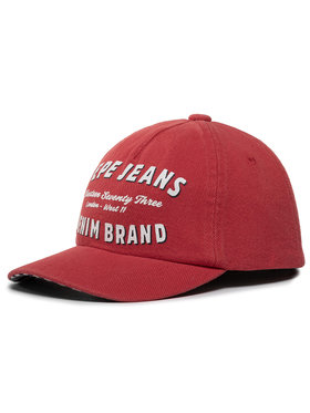 Pepe Jeans Pepe Jeans Καπέλο Jockey Twill Cap PB040260 Κόκκινο