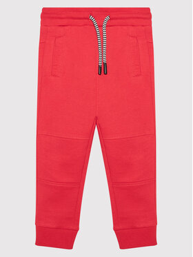 Coccodrillo Coccodrillo Παντελόνι φόρμας ZC1120110EVB Κόκκινο Regular Fit