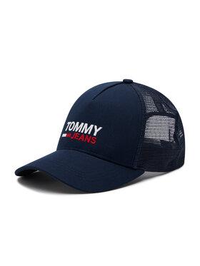 Tommy Jeans Tommy Jeans Czapka z daszkiem Tjm Flag Trucker AM0AM07172 Granatowy