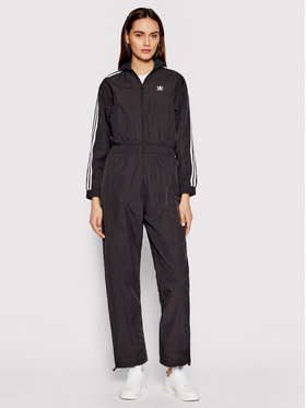 adidas adidas Jumpsuit adicolor Classics Boiler GN2781 Nero Relaxed Fit