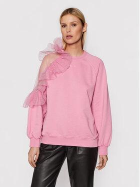 MSGM MSGM Sweatshirt 3141MDM84 217799 Rosa Loose Fit