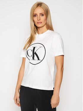 Calvin Klein Jeans Calvin Klein Jeans T-Shirt J20J215134 Weiß Regular Fit