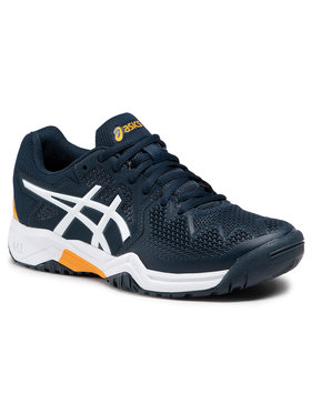 Asics Asics Buty Gel-Resolution 8 Gs 1044A018 Granatowy