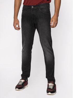 Wrangler Wrangler jeansy_skinny_fit Bryson W14XHT120 Pilka Skinny Fit