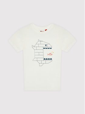 LEGO Wear LEGO Wear T-Shirt Lwtias 306 11010096 Biały Regular Fit