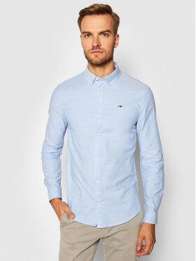 Tommy Jeans Tommy Jeans Cămașă Stretch Oxford DM0DM09594 Albastru Slim Fit