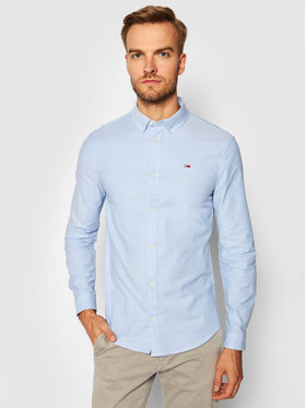 Tommy Jeans Tommy Jeans Риза Stretch Oxford DM0DM09594 Син Slim Fit