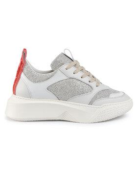 Stokton Sneakersy 33-D-NASTRO-FW19 Biela