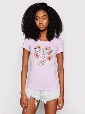 Guess Guess T-shirt Rebecca W1GI0N J1311 Viola Slim Fit