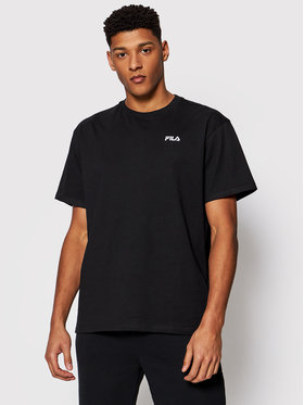 Fila Fila T-Shirt Fonda Dropped Shoulder 688506 Černá Oversize