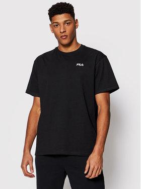 Fila Fila T-Shirt Fonda Dropped Shoulder 688506 Czarny Oversize