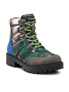 Desigual Desigual Turistická obuv Biker 21WSAA03 Zelená