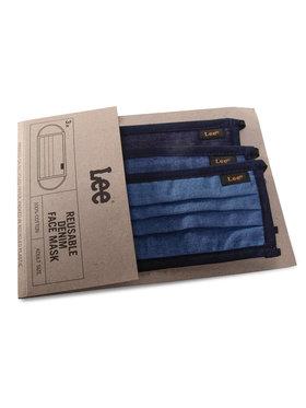 Lee Lee 3 medžiaginių kaukių rinkinys LN98QVEL Tamsiai mėlyna