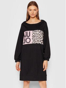 Liu Jo Liu Jo Φόρεμα υφασμάτινο 5F1093 J6264 Μαύρο Relaxed Fit