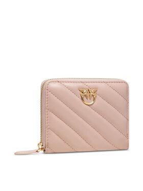 Pinko Pinko Portafoglio piccolo da donna Taylor V Quilt AI 21-22 PLTT 1P22EY Y7JR Rosa