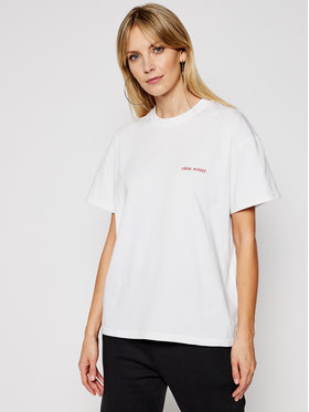 Local Heroes Local Heroes T-shirt Private Moments SS21T0011 Blanc Relaxed Fit