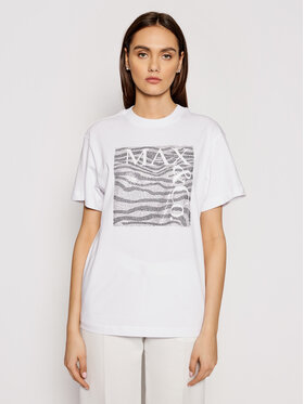 MAX&Co. MAX&Co. Тишърт Teerex1 69718521 Бял Regular Fit