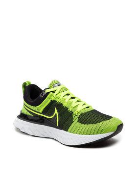 Nike Nike Παπούτσια React Infinity Run Fk 2 CT2357 700 Κίτρινο