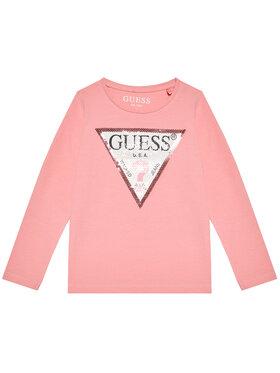 Guess Guess Blúz K1YI29 K6YW1 Rózsaszín Regular Fit