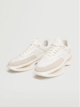 Mango Mango Sneakersy Icinic 17094031 Biały