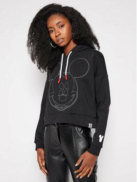 Desigual Desigual Sweatshirt DISNEY Mickey 20WWSK43 Schwarz Regular Fit