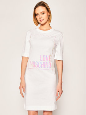 LOVE MOSCHINO LOVE MOSCHINO Ежедневна рокля W5B4902M 4083 Regular Fit