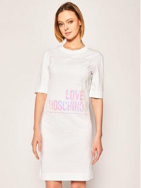 LOVE MOSCHINO LOVE MOSCHINO Každodenní šaty W5B4902M 4083 Regular Fit